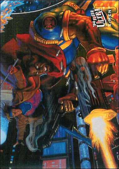 1994 Fleer Ultra X-Men (Team Portrait Subset) 8-A by Fleer