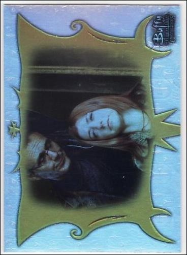 Buffy the Vampire Slayer: Connections (Parallel Foil Base Set) BC-35-A by Inkworks