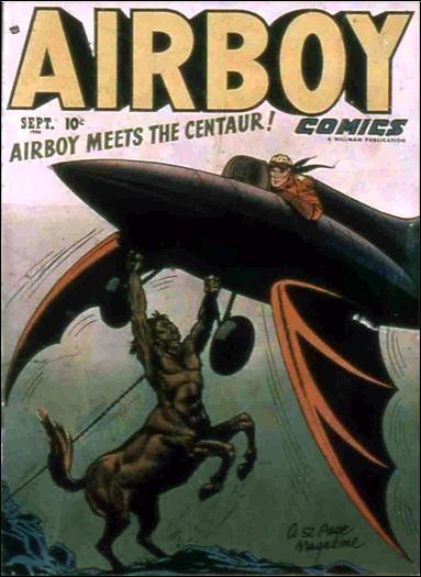 Airboy Comics (1950) 8-A by Hillman