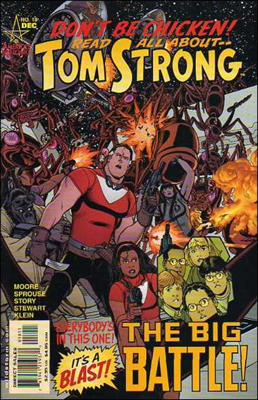 Tom Strong 18-A by America's Best Comics