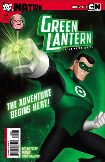 Green Lantern: The Animated Series 0-A by DC