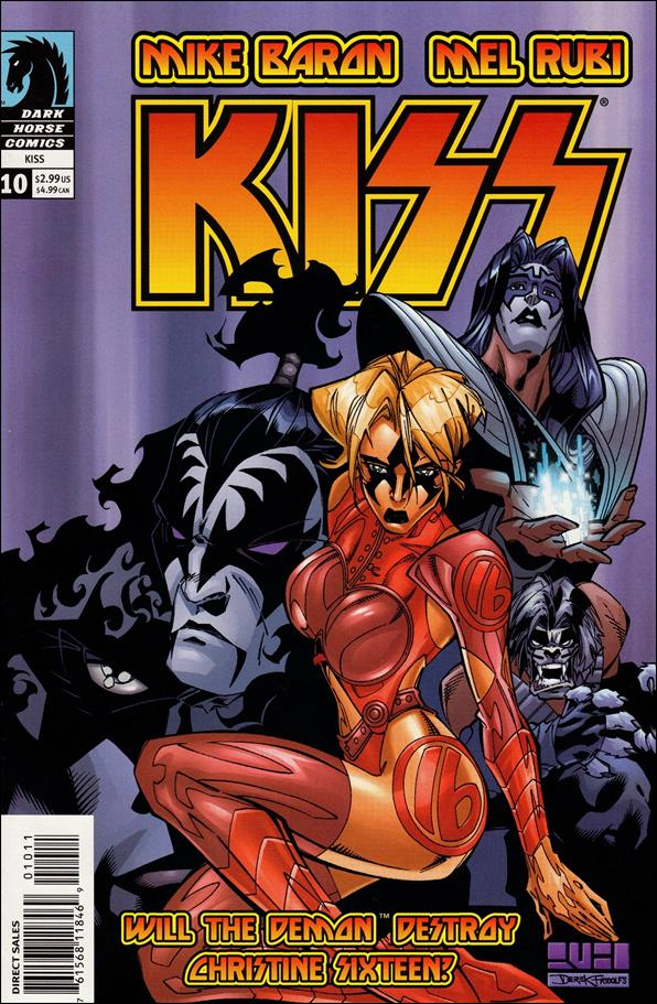 Kiss (2002) 10-A by Dark Horse