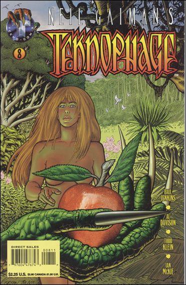 Neil Gaiman's Teknophage 8-A by Tekno•Comix