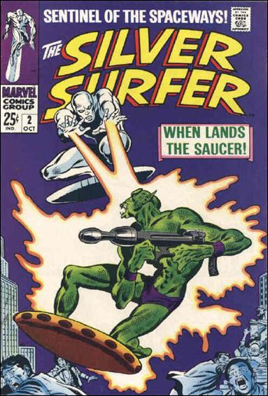 Silver Surfer (1968) 2-A by Marvel