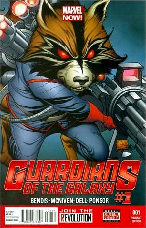 Guardians of the Galaxy (2013) 1-C by Marvel