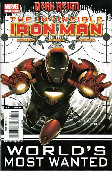 Invincible Iron Man (2008) 8-A by Marvel