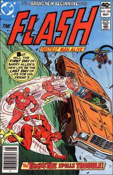 Flash (1959) 285-A by DC
