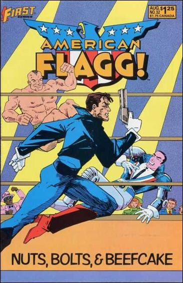 American Flagg! (1983) 32-A by First