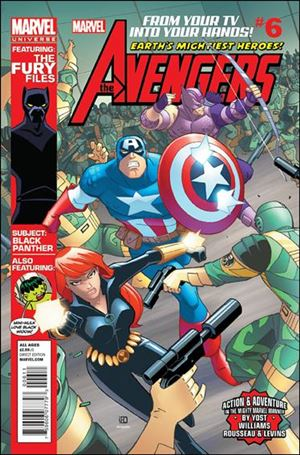 Avengers Earth's Mightiest Heroes (2012) 6-A