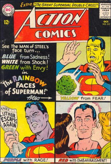Action Comics (1938) 317-A by DC