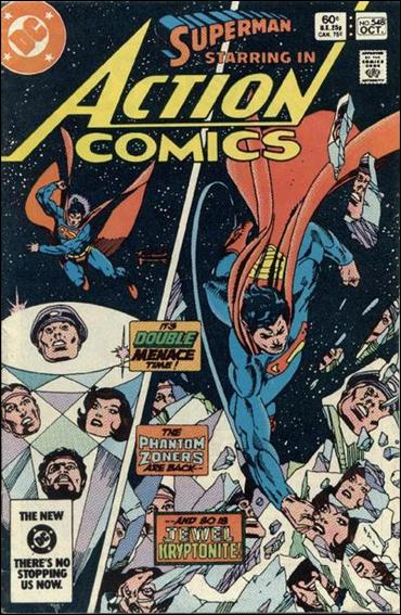 Action Comics (1938) 548-A by DC