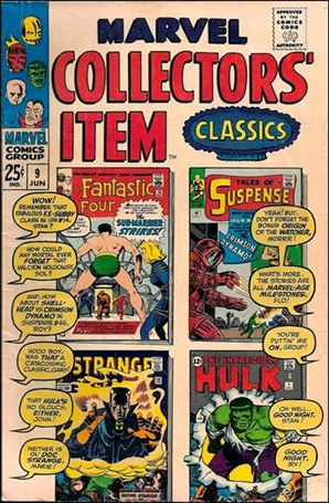 Marvel Collectors' Item Classics 9-A