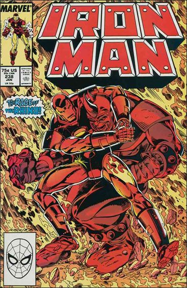 Iron Man (1968) 238-A by Marvel