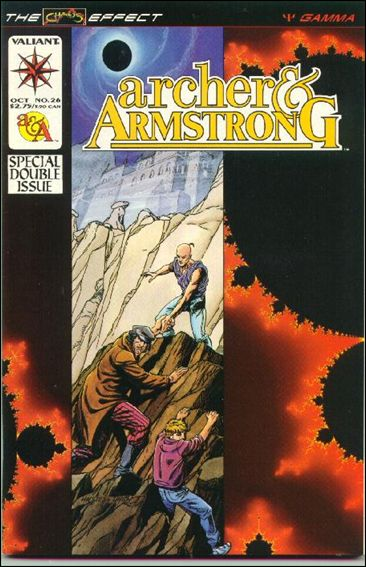 Archer & Armstrong (1992) 26-A by Valiant