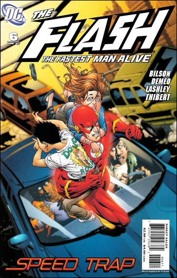 Flash: The Fastest Man Alive 6-A by DC