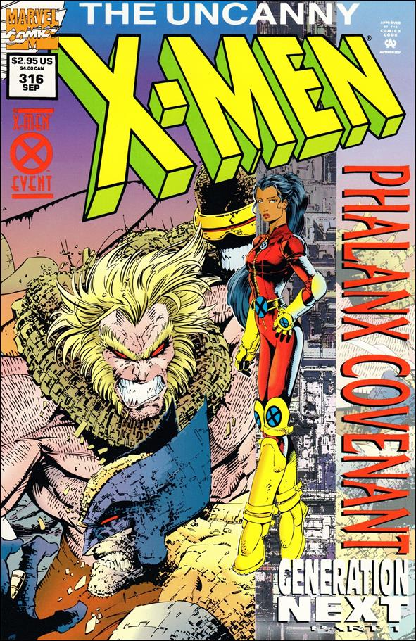 Uncanny X-Men (1981) 316-A by Marvel
