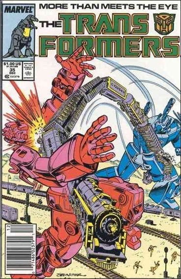 Transformers (1984) 35-A by Marvel