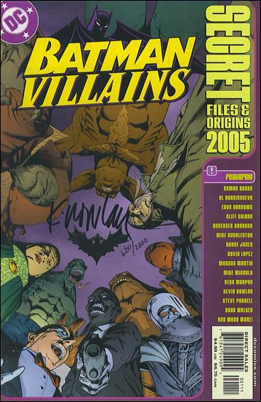Batman Villains: Secret Files and Origins 2005-B by DC