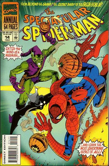 Spectacular Spider-Man Annual 14-A by Marvel