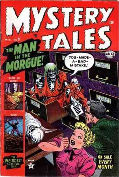 Mystery Tales (1952) 9-A by Atlas
