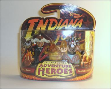 Indiana Jones: Adventure Heroes Mola Ram and Temple Priest by Hasbro