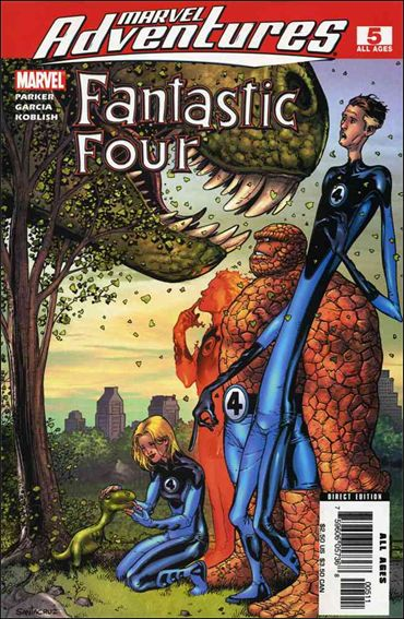Marvel Adventures Fantastic Four 5-A by Marvel