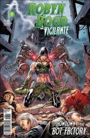 Robyn Hood: Vigilante 6-D
