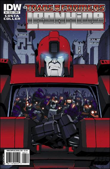 Transformers: Ironhide 4-B by IDW
