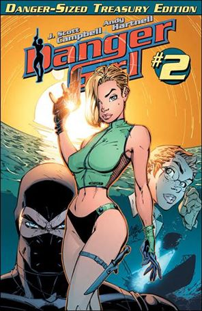 Danger Girl: Danger-Sized Treasury Edition 2-A