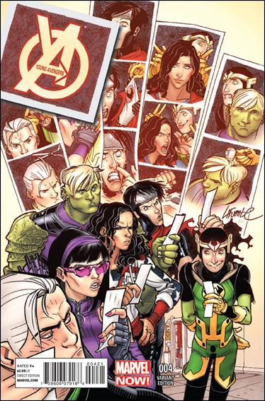 Young Avengers (2013) 4-B by Marvel