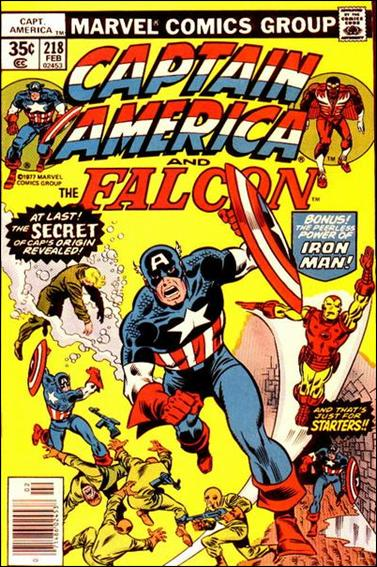 Captain America (1968) 218-A by Marvel