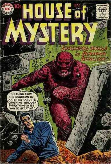 House of Mystery (1951) 98-A by DC