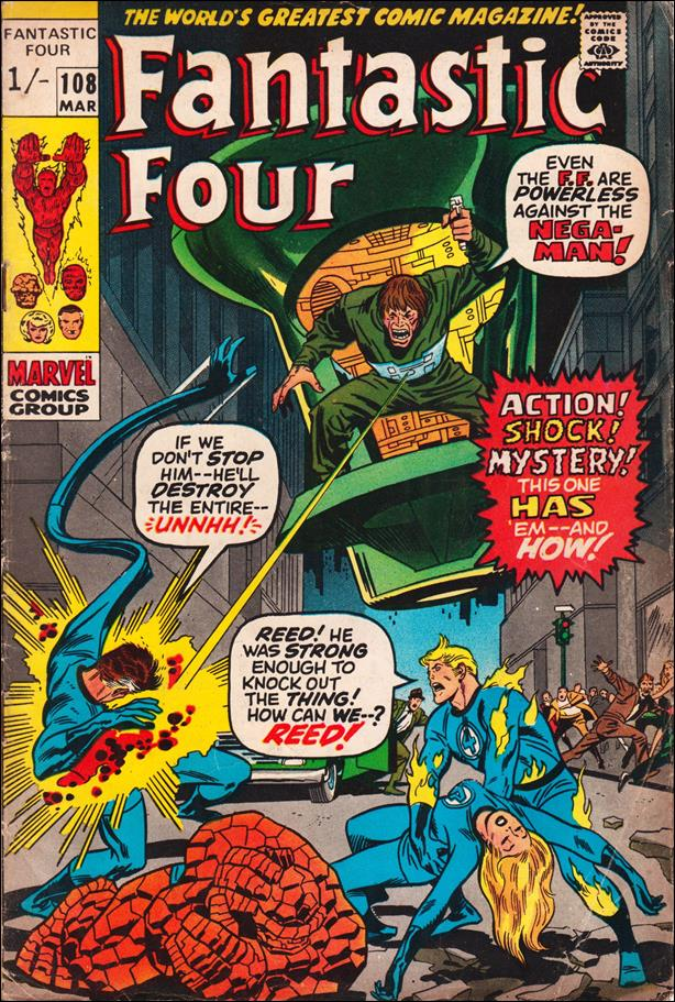 Fantastic Four (1961) 108-B by Marvel