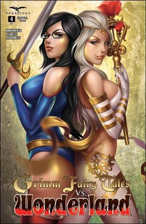 Grimm Fairy Tales Vs. Wonderland 4-C