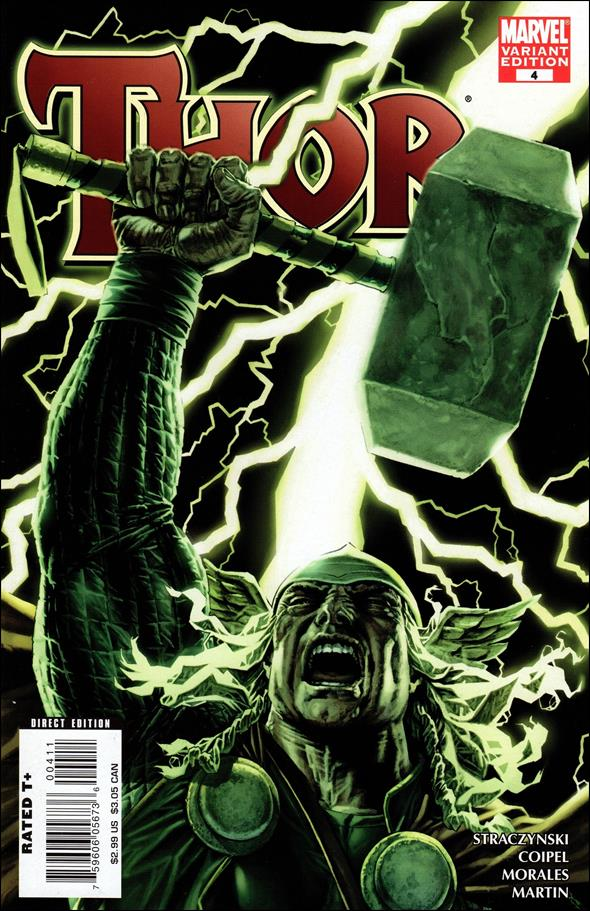 Thor (2007) 4-B by Marvel
