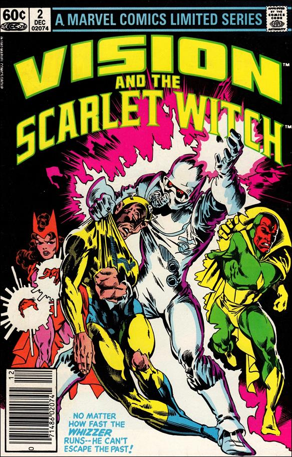 Vision and the Scarlet Witch (1982) 2-A by Marvel