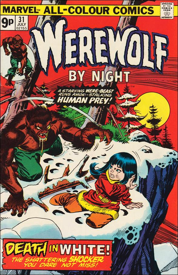 Werewolf by Night (1972) 31-B by Marvel