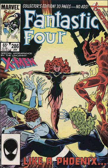 Fantastic Four (1961) 286-A by Marvel