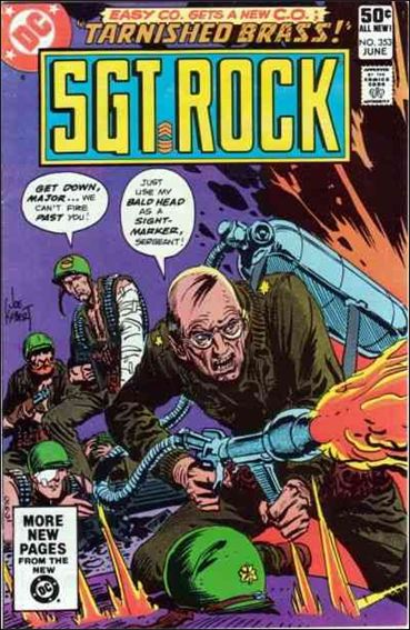 Sgt. Rock (1977) 353-A by DC