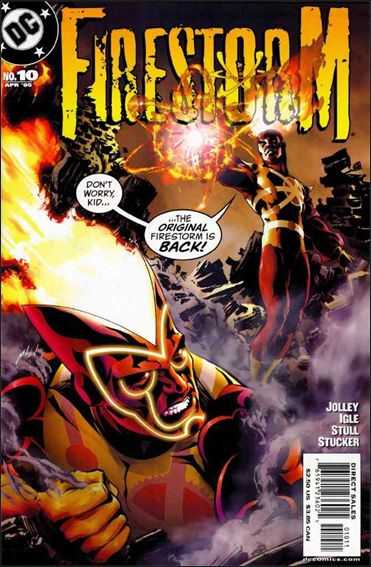 Firestorm (2004) 10-A by DC