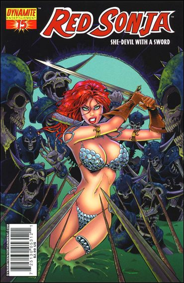 Red Sonja (2005) 15-B by Dynamite Entertainment