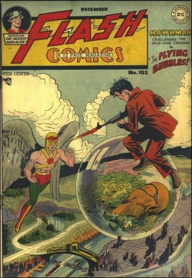 Flash Comics (1939) 102-A by DC