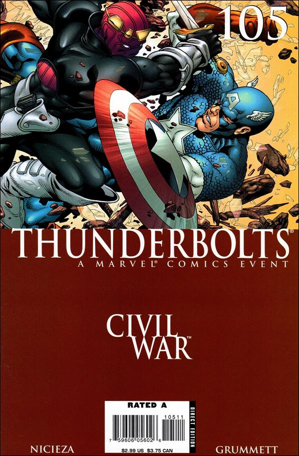 Thunderbolts (1997) 105-A by Marvel