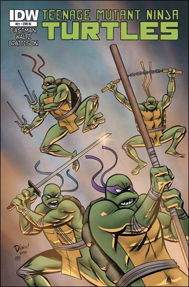 Teenage Mutant Ninja Turtles (2011) 21-B by IDW