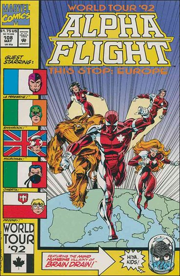 Alpha Flight (1983) 108-A by Marvel