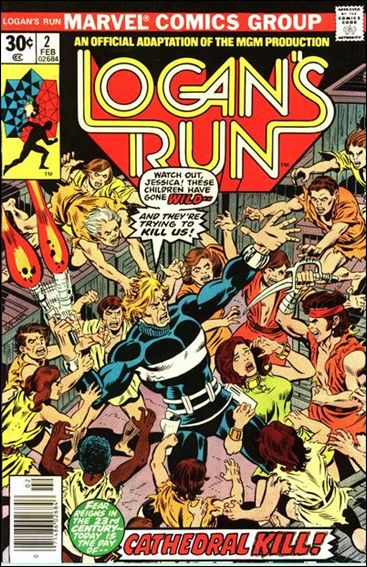 Logan's Run (1977) 2-A by Marvel