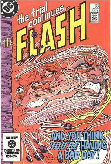 Flash (1959) 341-A by DC