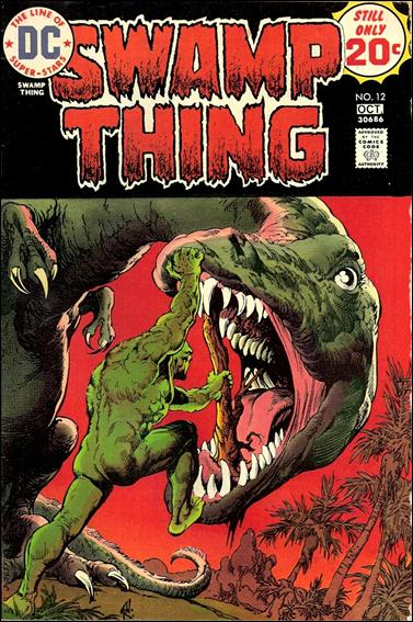 Swamp Thing (1972) 12-A by DC
