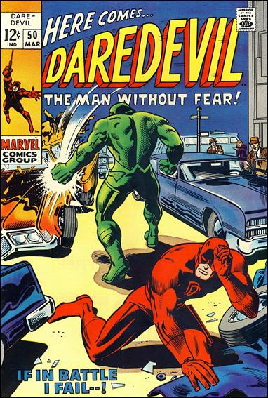 Daredevil (1964) 50-A by Marvel