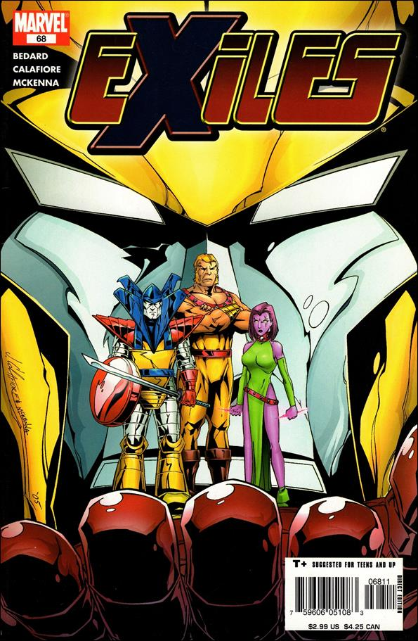 Exiles (2001) 68-A by Marvel